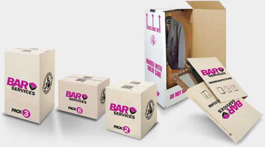 Packing Materials, Boxes, Removal Packaging